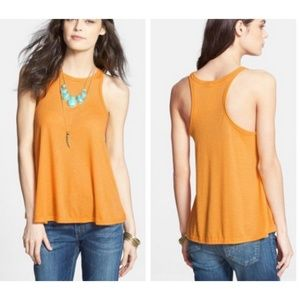 Free People Intimately Ribbed Long Beach Tank